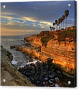 Sunset Cliffs Acrylic Print