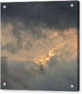 Sunset Cloud Formations Acrylic Print