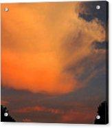 Sunset Cloud Series 19 Acrylic Print