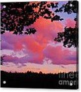 Sunset Clouds Acrylic Print