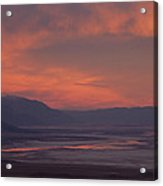 Sunset Death Valley Img 0277 Acrylic Print