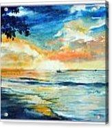 Sunset Drama Acrylic Print