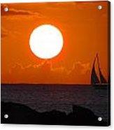 Sunset Dreams Acrylic Print