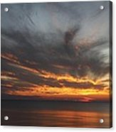 Sunset Fiery Sky Acrylic Print
