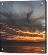 Sunset Fiery Sky Acrylic Print