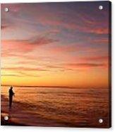 Sunset Fishing 2  Acrylic Print