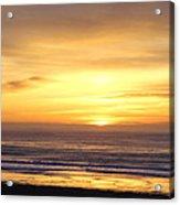 Sunset Flame Acrylic Print