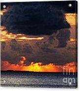 Sunset Florida Keys Acrylic Print