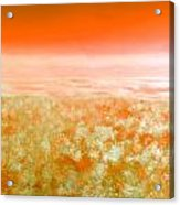 Sunset From Above Acrylic Print