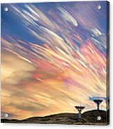 Sunset From Another Planet  Acrylic Print