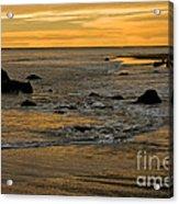 Sunset From Damon Point Acrylic Print
