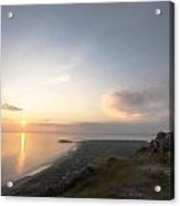 Sunset From Rhossili Down Acrylic Print