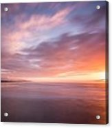 Sunset From The South Jetty Acrylic Print