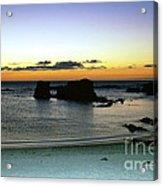 Sunset Gone Acrylic Print