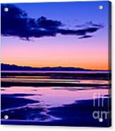 Sunset Great Salt Lake - Utah Acrylic Print