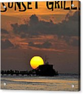 Sunset Grill Don Henley 1984 Acrylic Print