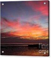Sunset Handry's Beach Acrylic Print