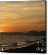 Sunset Hive Beach Summer 2010 Two Acrylic Print