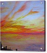 Sunset I Acrylic Print
