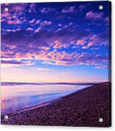 Sunset In Cape Cod Boston Massachusetts  Acrylic Print