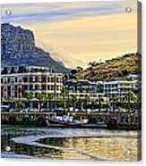 Sunset In Cape Town Acrylic Print