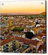 Sunset In Cavaillon Acrylic Print