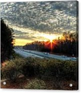 Sunset In Charlotte #3 Acrylic Print