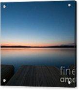 Sunset In Croatia Acrylic Print