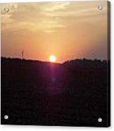 Sunset In East Tn Acrylic Print