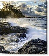 Big Island - Sunset In Hilo Acrylic Print