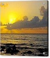 Sunset In Kauai Acrylic Print