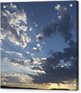 Sunset In New Mexico Acrylic Print