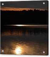 Sunset In North Providence Ri Acrylic Print