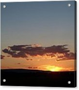 Sunset In Pennsylvania  Acrylic Print