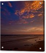 Sunset In Playa Encanto Acrylic Print