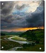 Sunset In Spain 2 Acrylic Print