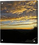 Sunset In Taos Acrylic Print