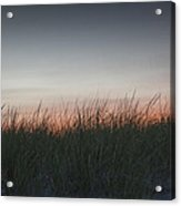 Sunset In The Dunes Acrylic Print