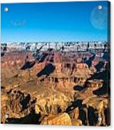 Sunset In The Grand Canyon Acrylic Print
