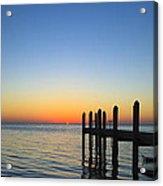 Sunset In The Keys Acrylic Print