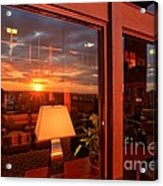 Sunset In The Lobby Acrylic Print