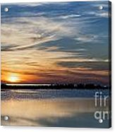Sunset In The South Acrylic Print