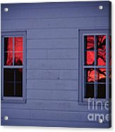 Sunset In The Windows Acrylic Print