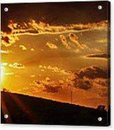 Sunset In Vernon County Acrylic Print