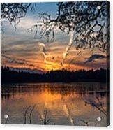Sunset Lake Horicon Lakehurst New Jersey Acrylic Print