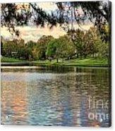 sunset lake I Acrylic Print