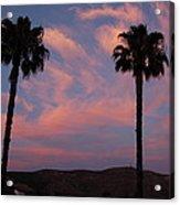 Sunset Landscape Xi Acrylic Print