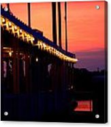 Sunset Lights  Acrylic Print