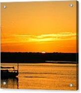 Sunset Morro Bay California Acrylic Print