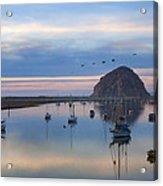 Sunset Morro Bay Acrylic Print